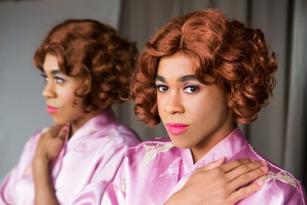 Charles Peoples III as Ruby in the Theatre Rhinoceros production TRANSITIONS Photo