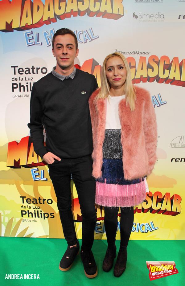 Victor Palmero y Rebeca Khamlichi
