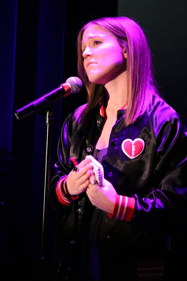 """Mallory Vallier sings """"A Note from Linda"""" from the musical, The Wedding Singer."""