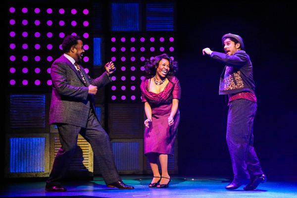 Warren G. Nolan Jr as Delray, Simone Gundy as Felicia, and Barrett Riggins as Huey