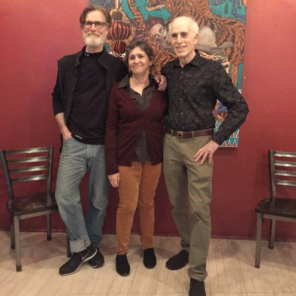 Tom Nelis, Ellen Maddow, Paul Zimet Photo
