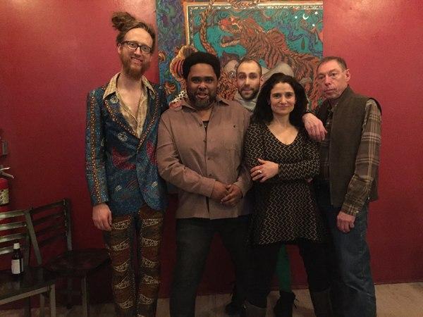 Musicians: Sam Kulik, Lathan Hardy, Chris DiMeglio, Jessica Lurie, Peter Zummo Photo