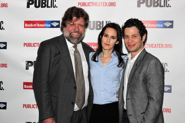 Photo Coverage: Gillian Jacobs, Aya Cash and the Cast of KINGS Celebrate Opening Night at the Public Theater