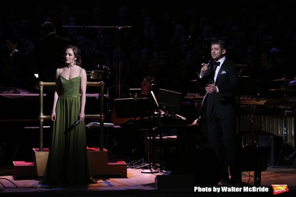 Laura Osnes and Tony Yazbeck