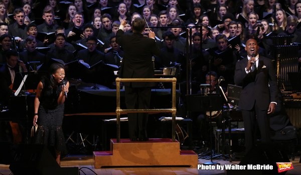 Photo Coverage: Lea Salonga, Laura Osnes, Norm Lewis, and More Perform in Broadway Classics in Concert at Carnegie Hall