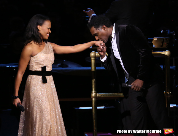 Nikki Rene Daniels and Norm Lewis