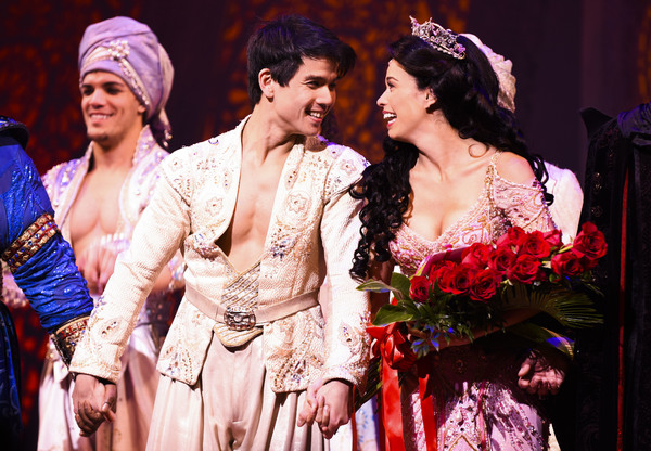 Photo Flash: Arielle Jacobs Takes Princess-Perfect First Bows in ALADDIN on Broadway!