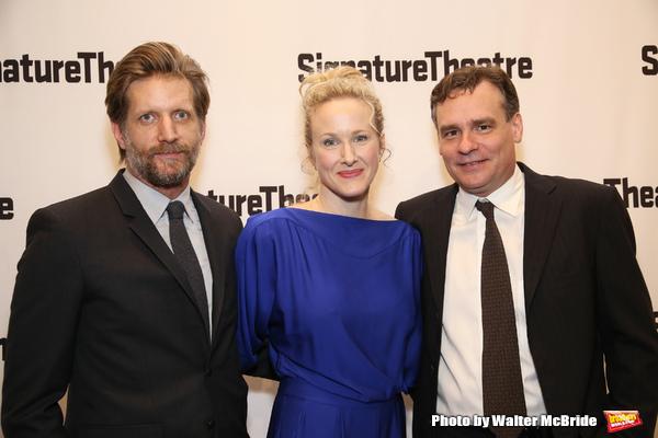 Paul Sparks, Katie Finneran and Robert Sean Leonard  Photo