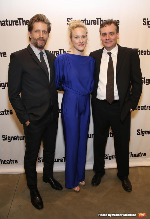 Paul Sparks, Katie Finneran and Robert Sean Leonard