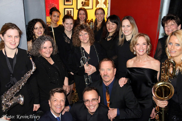 Linda Purl, Jim Caruso, Tom Wopat, Tedd Firth, and the DIVA Jazz Orchestra