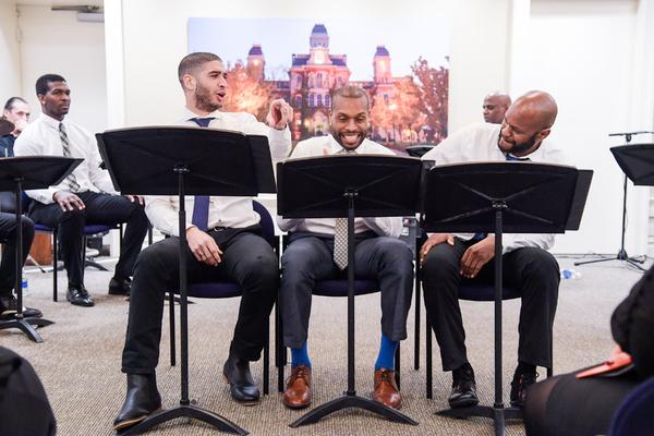 Photo Flash: Syracuse University Celebrates Alumnus Taye Diggs with NYC Reading