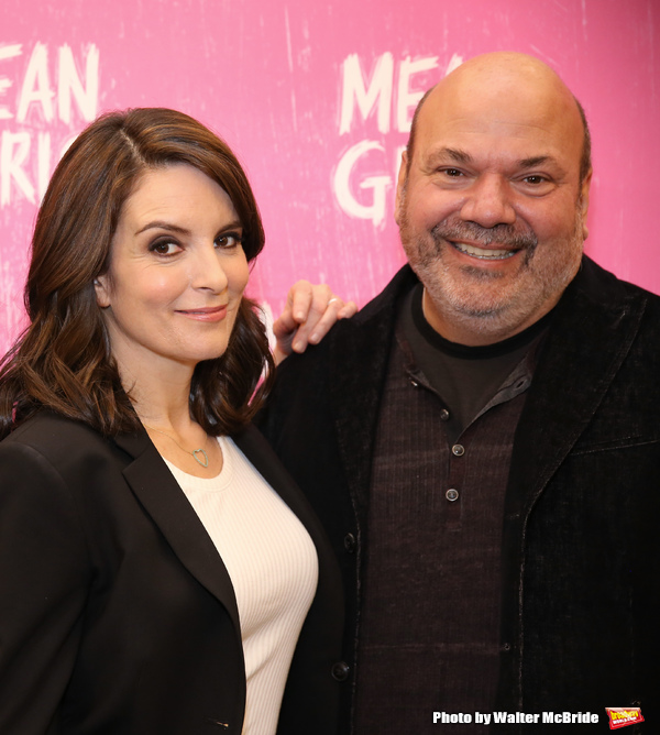 Tina Fey and Casey Nicholaw