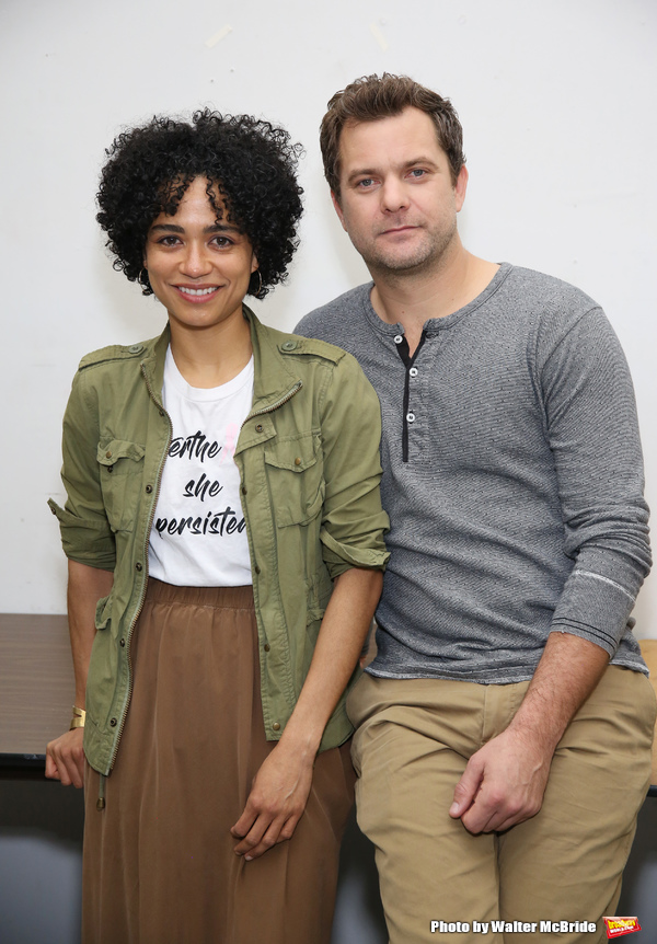 Lauren Ridloff and Joshua Jackson