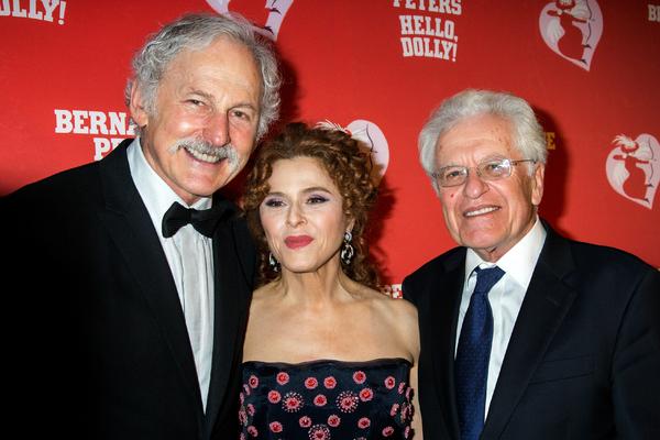 Victor Garber, Bernadette Peters, Jerry Zaks