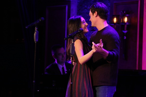 Photo Flash: Broadway's Couples Team Up for Valentine's Day Concert at Feinstein's/54 Below