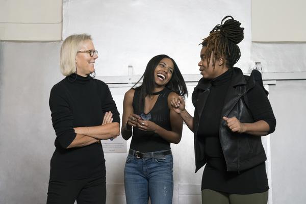 Phyllida Lloyd, Adrienne Warren, Katori Hall Photo