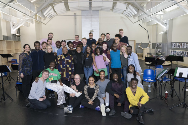 Photo Flash: Tina Turner Joins the Cast of TINA in Rehearsal