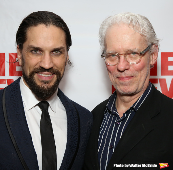 Will Swenson and Terrence Mann