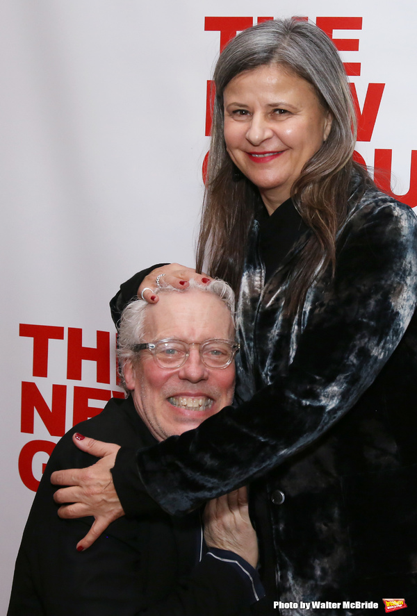 Terrence Mann and Tracey Ullman  Photo