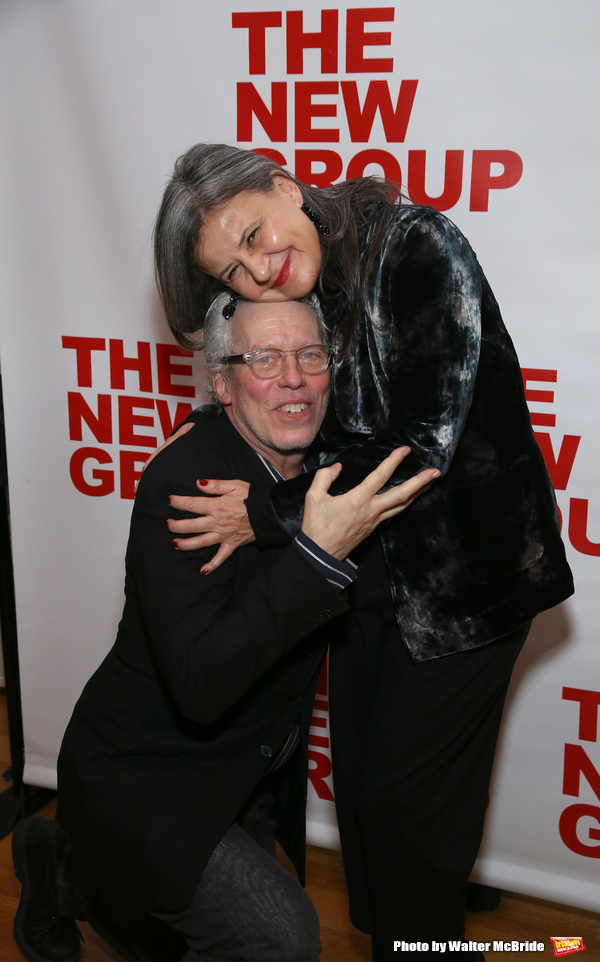 Terrence Mann and Tracey Ullman