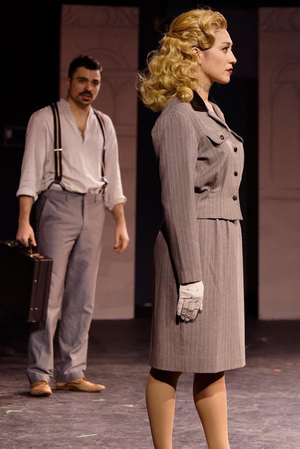 Michael McCray (Che) and Alena Cardenez (Eva)