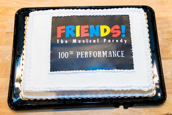 Photo Coverage: FRIENDS! THE MUSICAL PARODY Celebrates 100 Performances