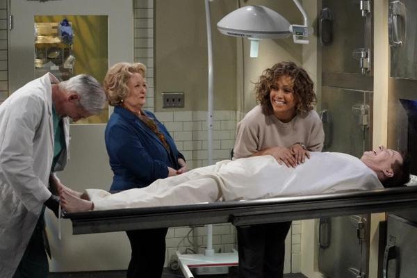 Josh Meltzer as Medical Examiner, Maree Cheatham as Grieving Mother, Jennifer Lopez a Photo