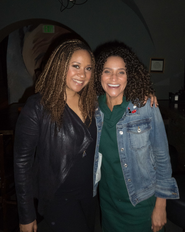 Tracie Thoms and Talia Thiesfield
