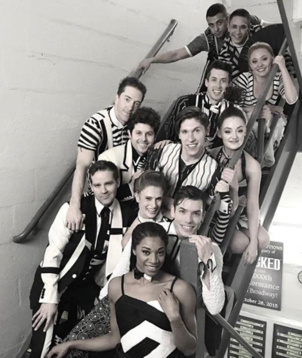 Photo Flash: Carolee Carmello's Final Saturday in SWEENEY TODD, and More Saturday Intermission Pics!