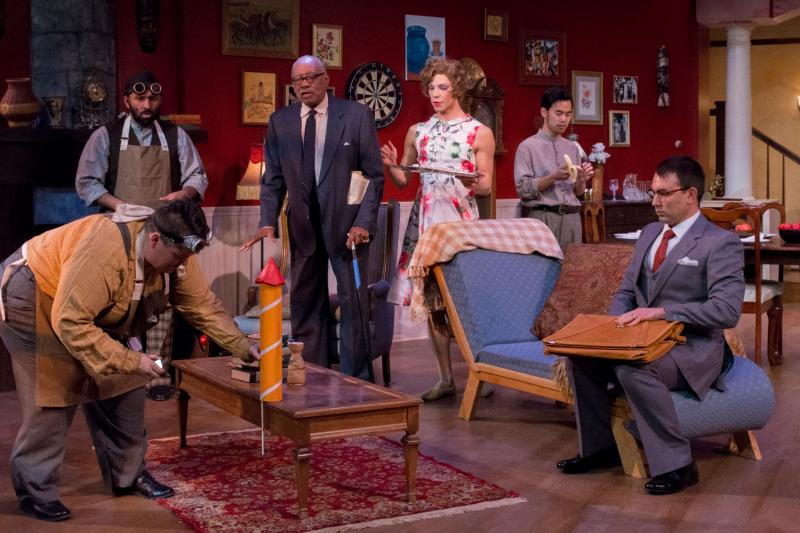 BWW Review: Sound Theatre's YOU CAN'T TAKE IT WITH YOU a Roller Coaster of Commitment
