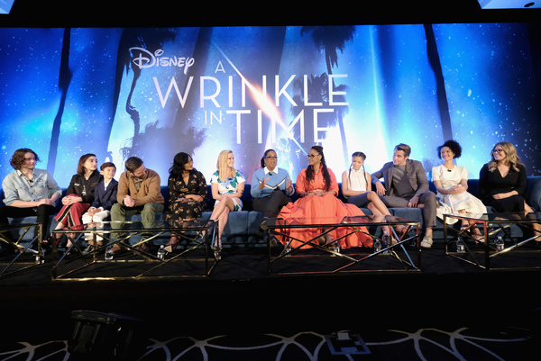 Photo Flash: Disney's A WRINKLE IN TIME Cast and Crew Hold Press Conference