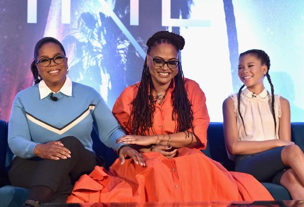 Oprah Winfrey; Ava DuVernay; Storm Reid