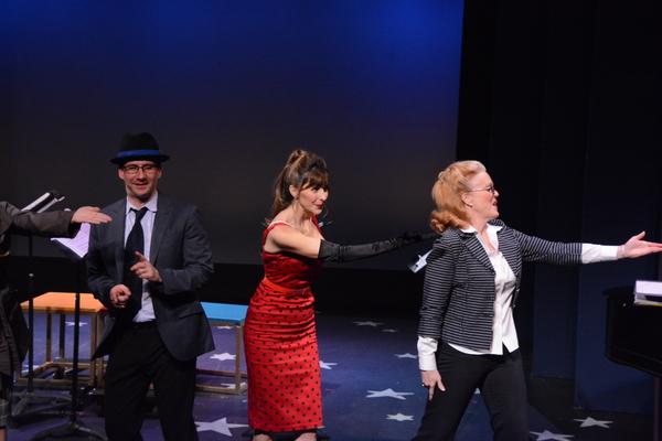 David Josefsberg, Gina Milo and Beth Glover
