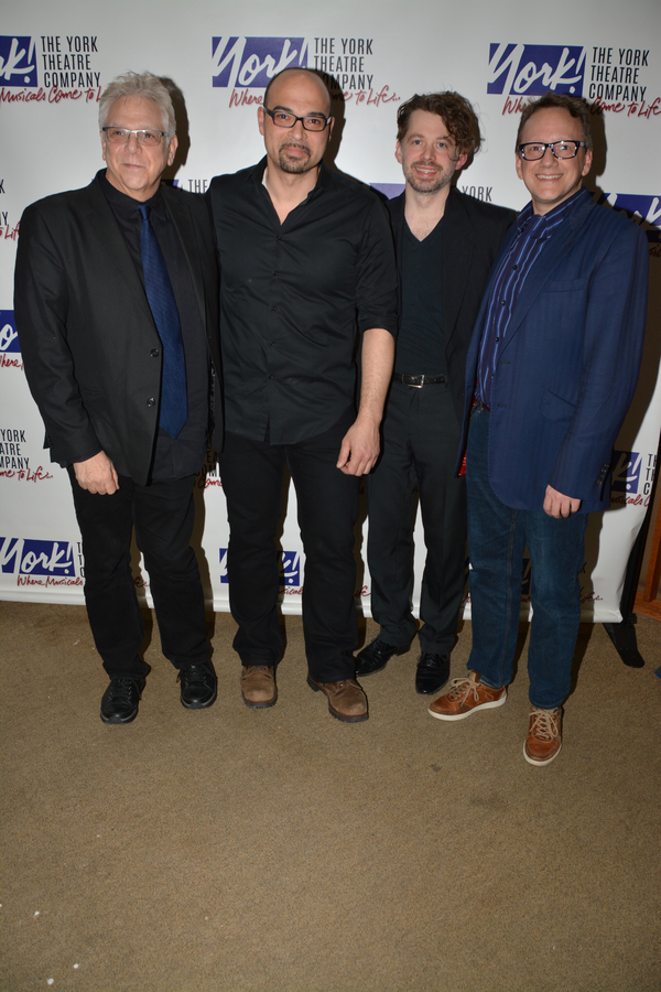 Stuart Ross (Director), George Farmer, David Hancock Turner and Jason Buell (Music Consultant)