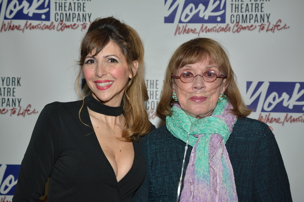 Gina Milo and Phyllis Newman