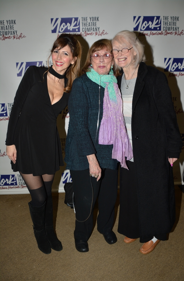 Gina Milo, Phyllis Newman and Margaret Styne