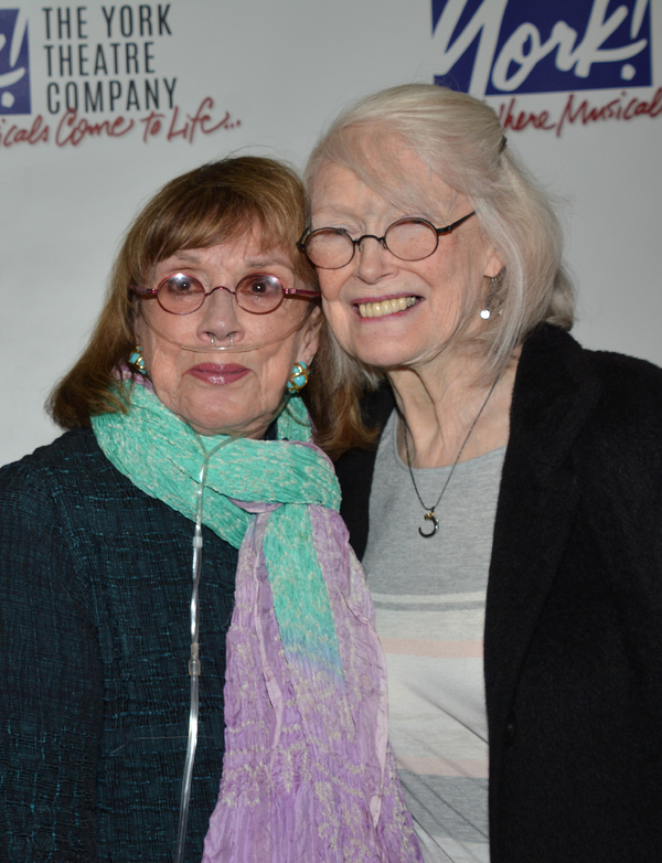 Phyllis Newman and Margaret Styne Photo