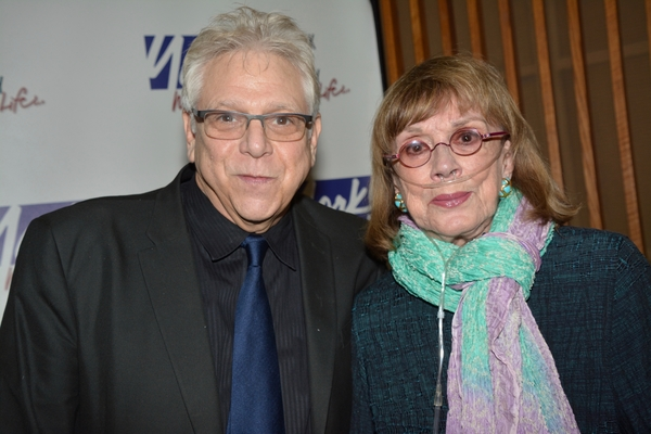 Stuart Ross and Phyllis Newman