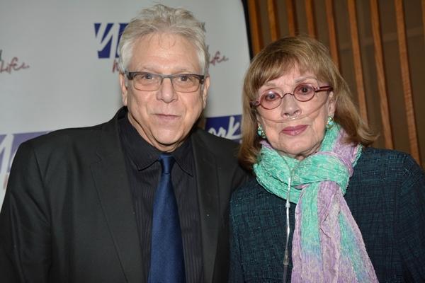 Stuart Ross and Phyllis Newman