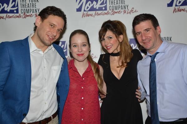 Eric William Morris, Alyse Alan Louis, Gina Milo and David Josefsberg Photo