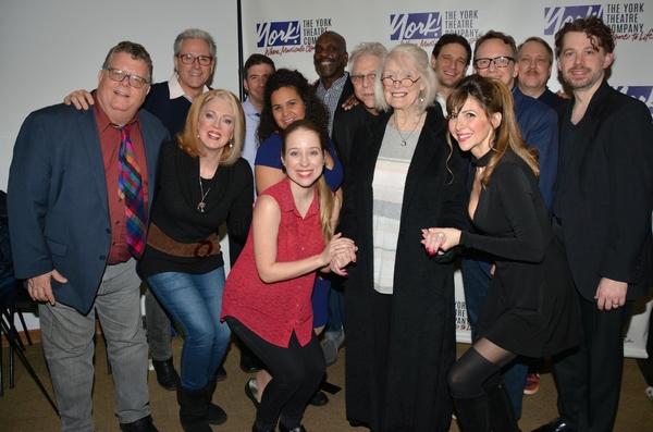 Margaret Styne joins- James Morgan, David Engel, Beth Glover, David Josefsberg, Gerry Photo
