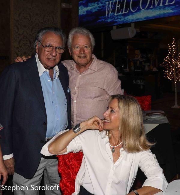 Stewie Stone, Stephen Sorokoff, Janna Ritz (Ritz Bros.)