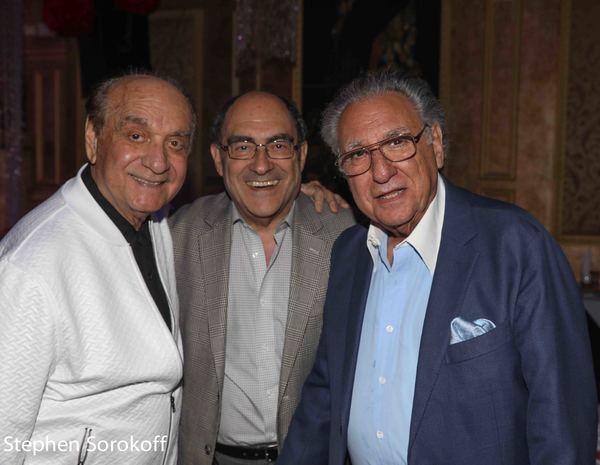 Dick Capri, Larry Toppel, Stewie Stone