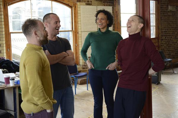 Laurie Sansom (Director), Declan Bennett (Valentin), Grace Cookey-Gam (Warden), Samue Photo
