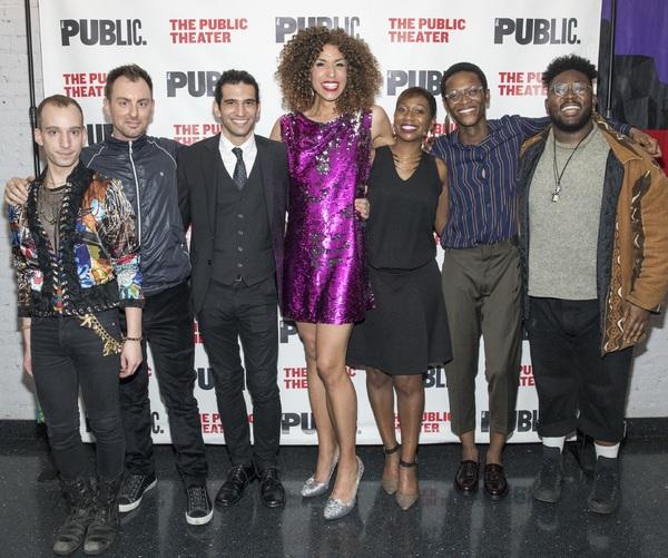 Photo Flash: BLACK LIGHT Celebrates Opening Night at Joe's Pub