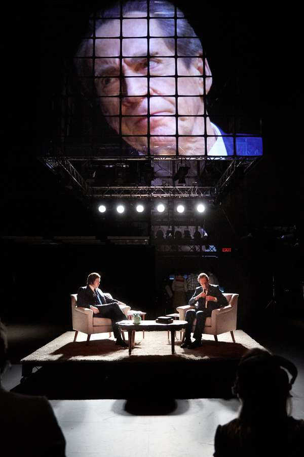 Photo Flash: First Look at FROST/NIXON at Sheffield Theaters