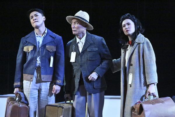 Ethan Le Phong, George Takei, and Elena Wang