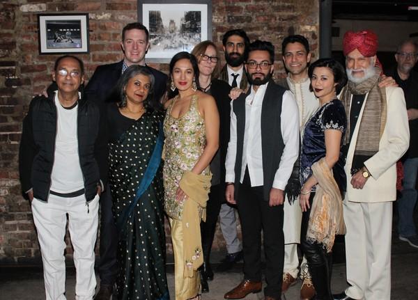 Ranjit Chowdhry, Andrew Hovelson, Rita Wolf, Purva Bedi, Jo Bonney, SathyaSridharan, Hammaad Chaudry, Sanjit DeSilva, Angel Desai and Harsh Nayyar