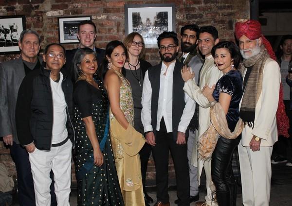 Jim Nicola, Ranjit Chowdhry, Andrew Hovelson, Rita Wolf, Purva Bedi, Jo Bonney, Sathy Photo