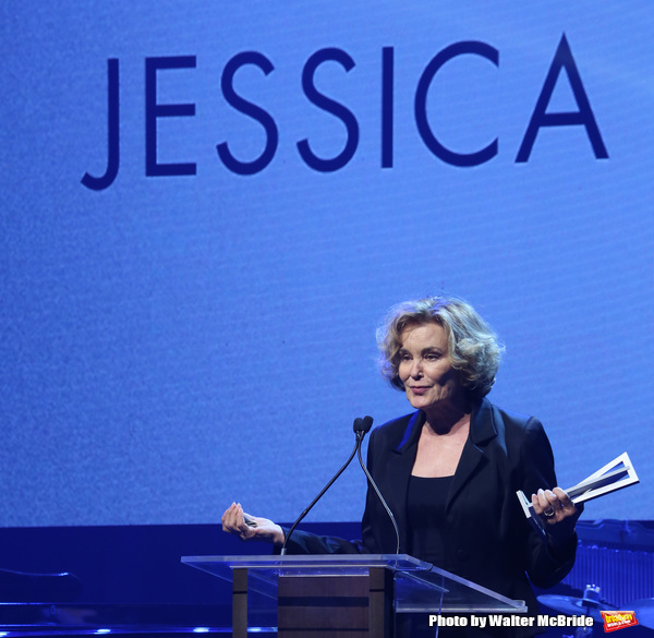 Photo Coverage: Jessica Lange Receives the Jason Robards Award at Roundabout Theatre Company's 2018 Gala